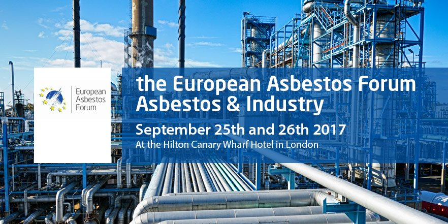 The 3rd European Asbestos Forum Conference 25th & 26th Sept