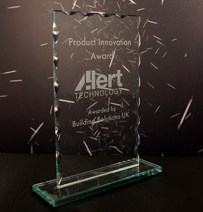 Product Innovation Award for Asbestos Alert From Building Solutions UK